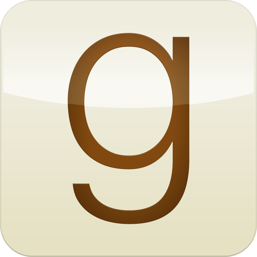 The Goodreads Logo.