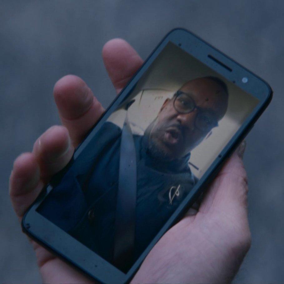Graham's phone.