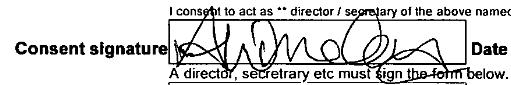 Amy Winehouse's signature.