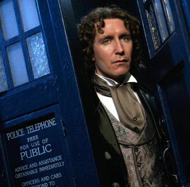 Paul Mcgann as Doctor Who.