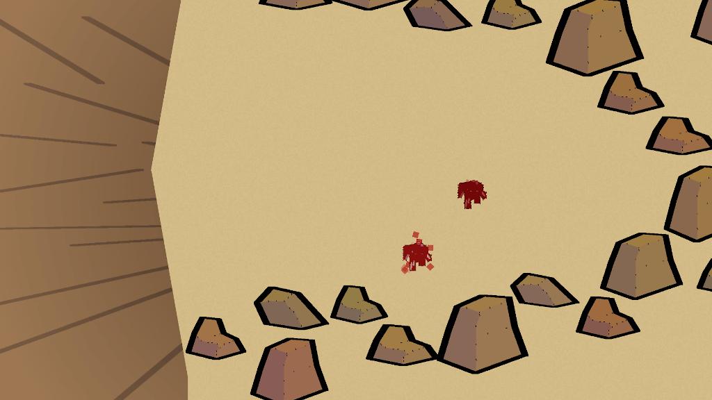 Crappy blocky graphics.