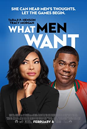 What Men Want poster.