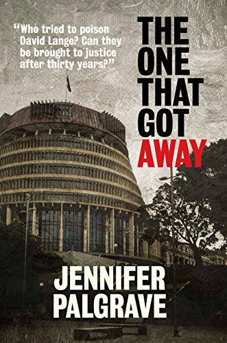 The New Zealand parliament building on a book cover.