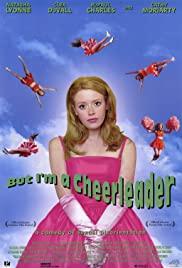 A cheerleader.
