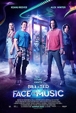 Bill and Ted movie poster.