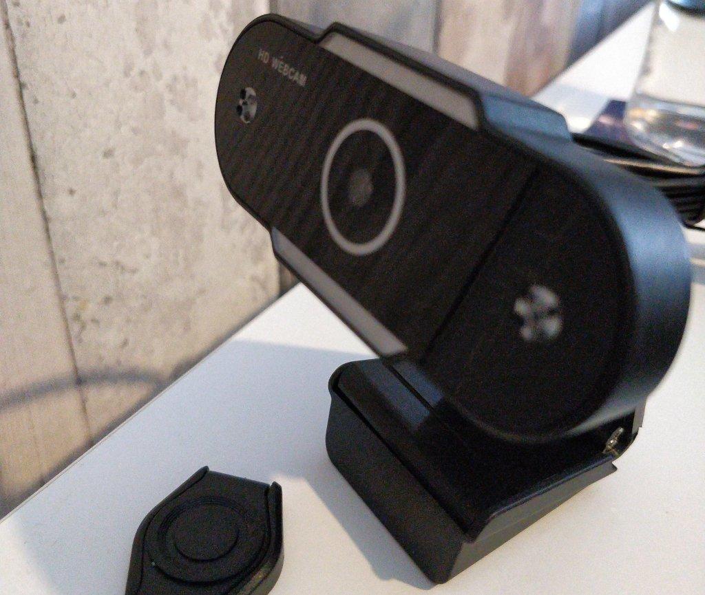 A chunky webcam.
