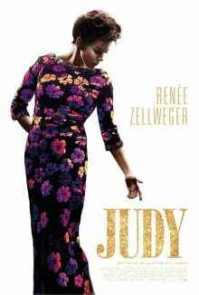 The poster for Judy.