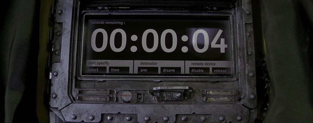 A countdown.