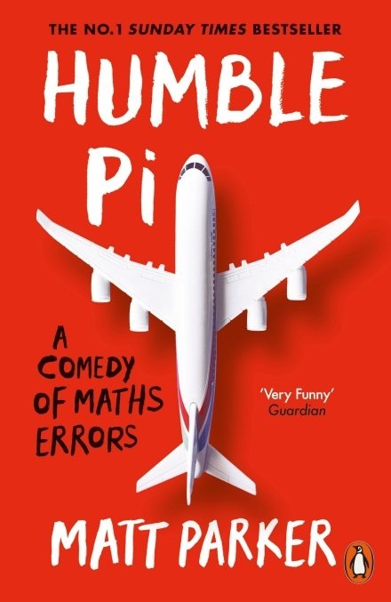 Book cover with an aeroplane with backwards wings mistakenly fixed to it.