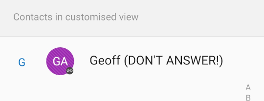 Geoff Don't Answer.