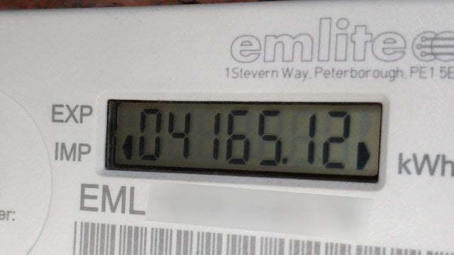 A generation meter.