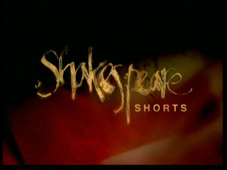 Shakespeare Shorts title card.