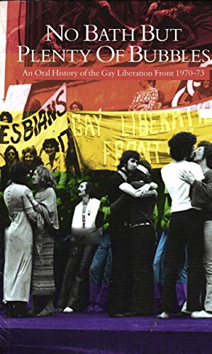 Book cover featuring a GLF protest.