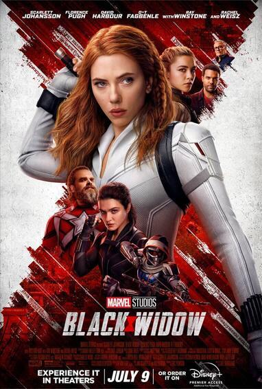 Black Widow movie poster.