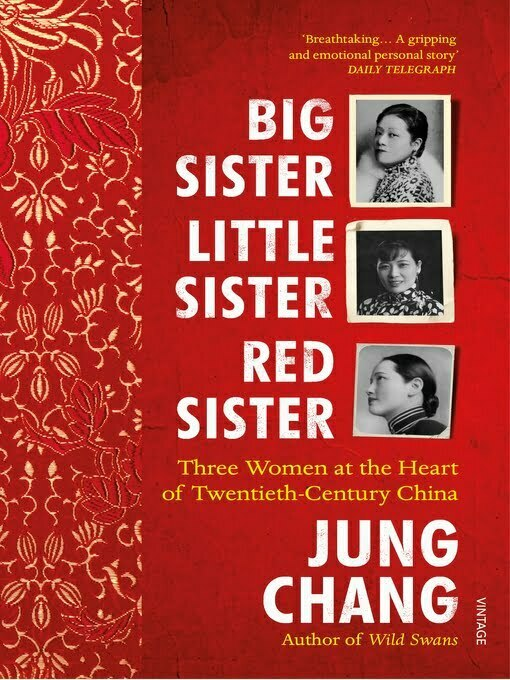 Book cover featuring photos of three Chinese women.