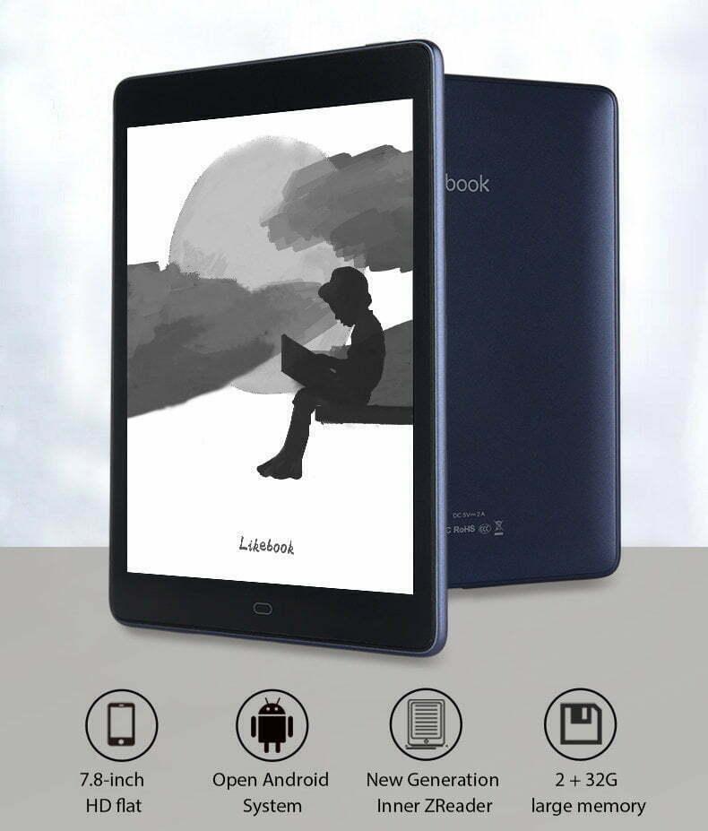 An eInk tablet.