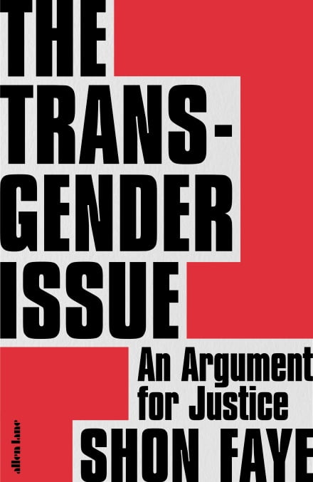Book cover of The Transgender Issue.